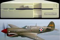 Commodore 1571 and P-40 Warhawk