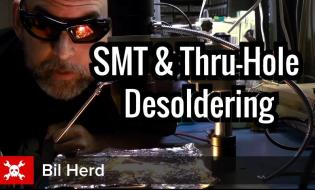 SMT and through hole desoldering