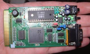 Plus4 Sid Chip expansion card