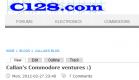 Callan's Commodore ventures
